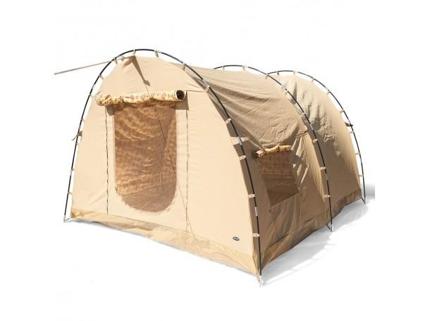 خيمة مبطنة طبقتين من الرماية