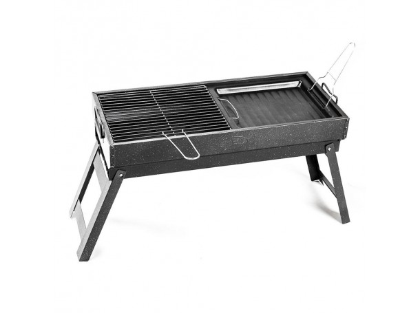 Charcoal Grill 2-in-1
