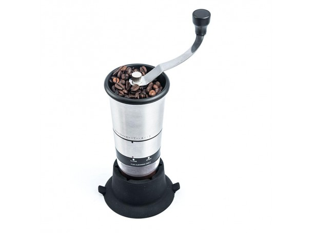 MANUAL COFFEE GRINDER STAINLESS STEEL