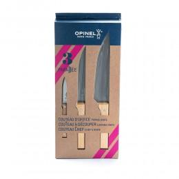 طقم سكاكين من اوبينال 3 حبات