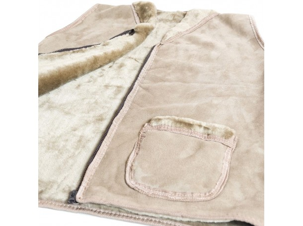 جاكت صيد  قماش مع فروة من الرماية