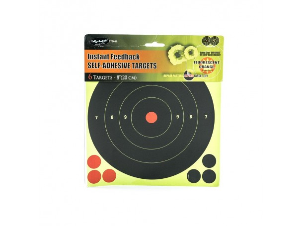Paper targets Multi-Colored 6inch