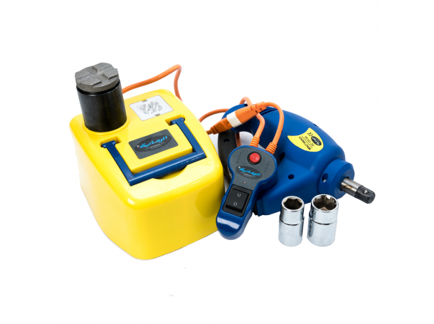 Electric Hydraulic Jack 12volt with wrench
