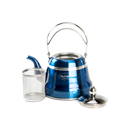 Tea Kettle Blue 1 L