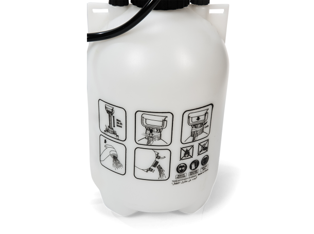 شطاف الوضوء الاكثر استخداماً في رحلات البري سعة 4 لتر