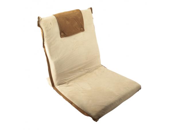 كرسي ارضي من الشمواه الفاخر قابل للطي