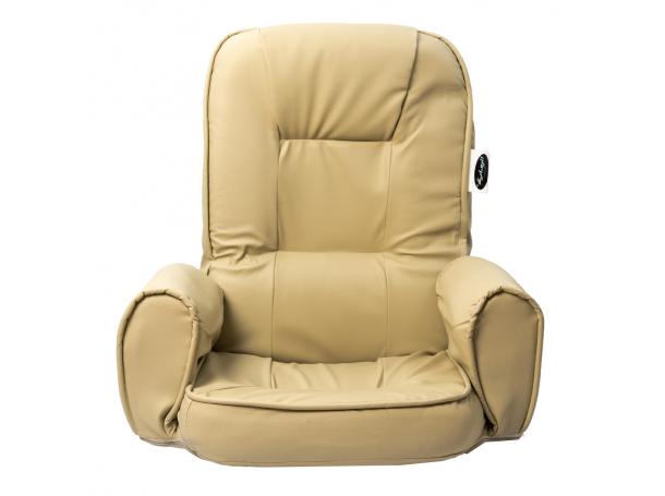 كرسي ارضي قابل للطي من جلد بولي يوريثان