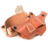 Leather Pistol Cover Brown 9mm