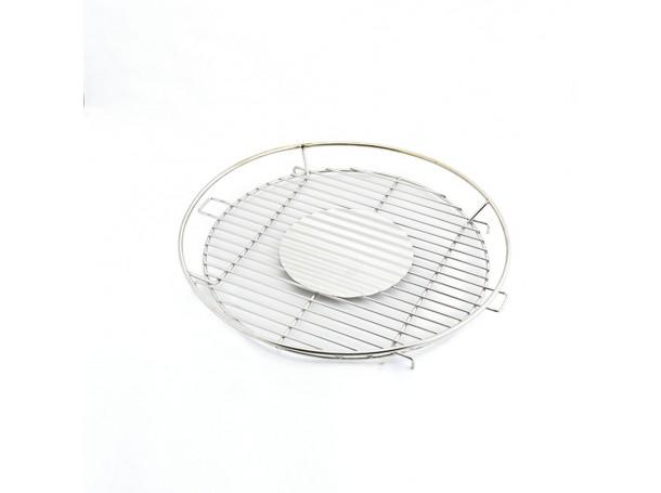 شواية دائرية بمروحة من الرماية