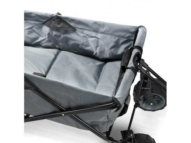 عربة تخييم متعددة الاستخدامات بتصميم قابل للطي