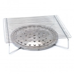 Portable Pack Grill with BBQ