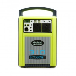 Ecoboxx 310 Solar Portable Generator 200 W+Battery