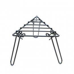 Triangle Folding Campfire Trivet With  Bag