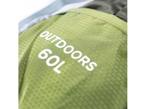 حقيبة ظهر لعشاق الهايكينج سعة 60 لتر من ديسكفري
