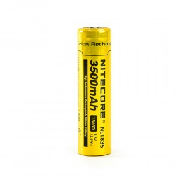 Nitecore NL1835 3500mAh 18650 High Capacity Protected Rechargable Battery