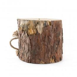 حطب على شكل جذع شجرة