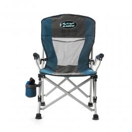 كرسي للرحلات مع حامل اكواب من الرماية
