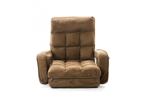 كرسي ارضي مبطن من الرماية