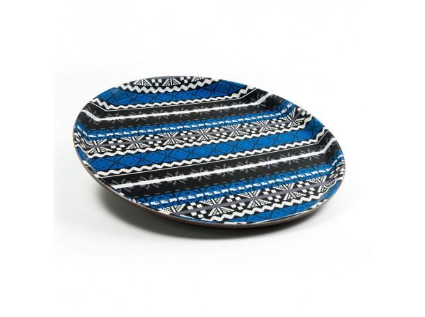 صينية دائرية تصميم عربي من الرماية
