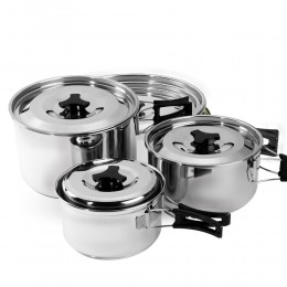 Alrimaya 3pcs Hiking pots