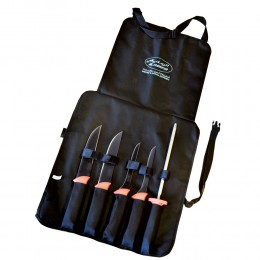 A set of knives from Alrimaya For slaughter with a stylish bag