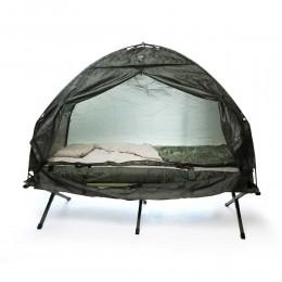 خيمة ناموسية  دائرية مع سرير