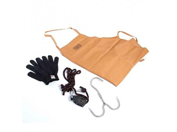 مجموعه ادوات جزار مع حقيبه حمل