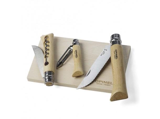 طقم سكاكين مع لوح تقطيع من اوبينال