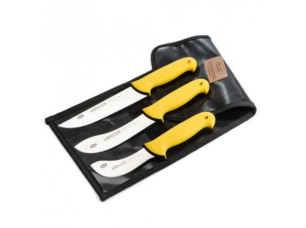 طقم سكاكين الذبايح من  أركوس 18-16-10سم