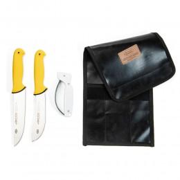طقم سكاكين الذبايح من  أركوس 18-16سم  ومسن اكوشارب