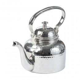 ابريق شاي استيل مطلي بالنيكل حب الرمان