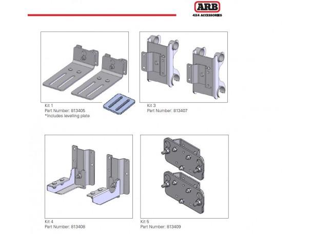 قواعد تثبيت المظلة سريعة الفك 3-ARB 813407