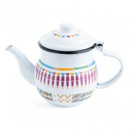 إبريق شاي أبيض