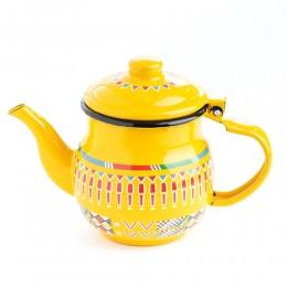 إبريق شاي أصفر