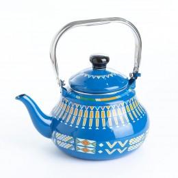إبريق شاي أزرق