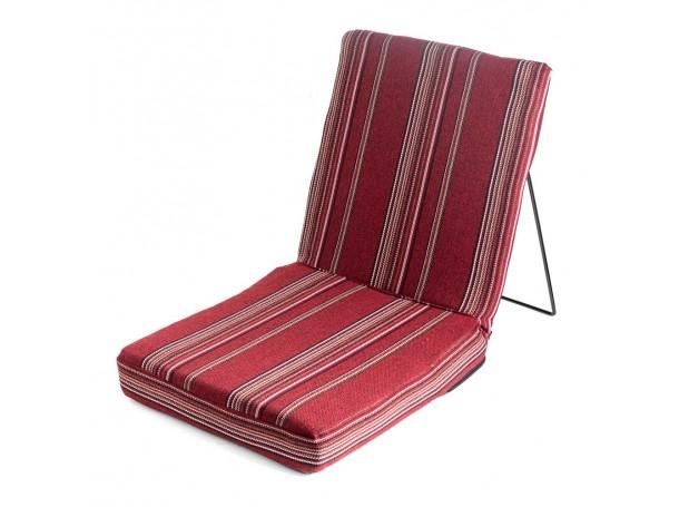كرسي أرضي بساند للظهر