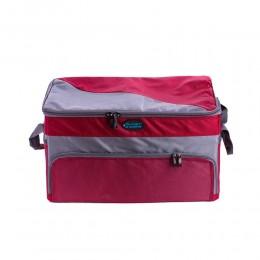 حقيبة رحلات أحمر