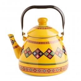 إبريق شاي مقبض الغطاء سيراميك