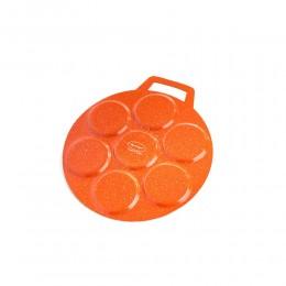 صاج كيك ألمنيوم  برتقالي